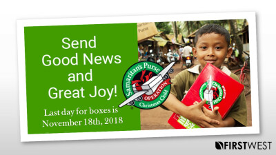 Operation Christmas Boxes Due