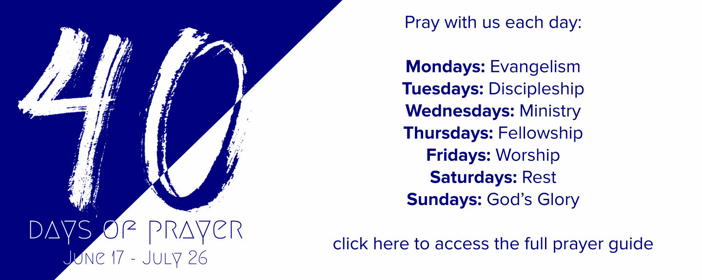 40 Daysof Prayer